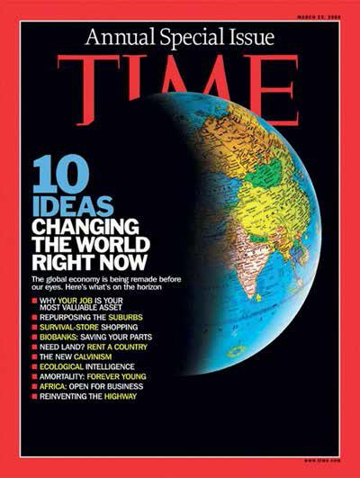 On 12 March 2009 Time Magazine calls biobanks