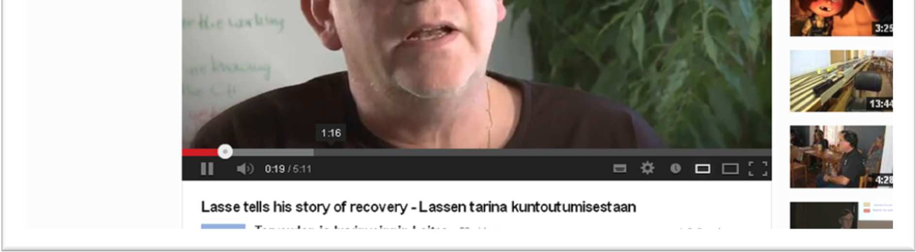 Lasse tells his story: http://www.youtube.com/watch?