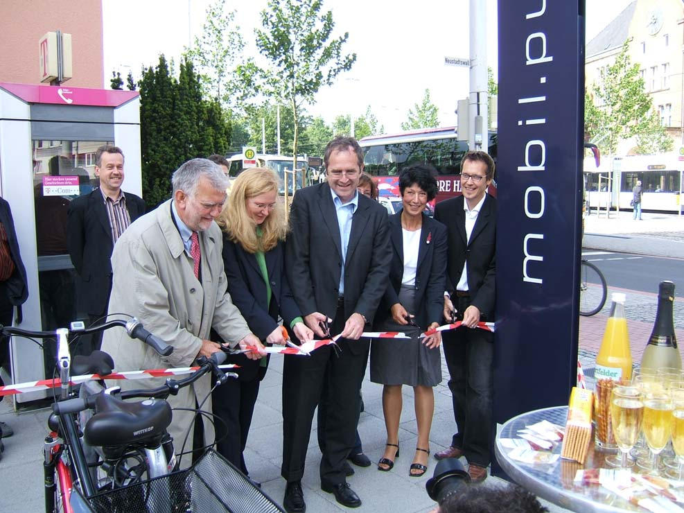Urban Regeneration Inauguration of a mobil.