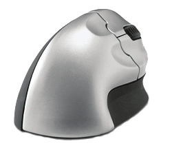 Wow GripMouse Delux Ergonominen WowGrip Mouse Delux on ergonominen pystyhiiri, jonka avulla käsi pysyy työskenneltäessä luonnollisessa ja