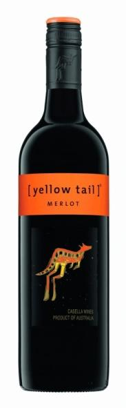 AUSTRALIA AUSTRALIA Talon viini housewine 1 cl Plo [YELLOW TAIL] MERLOT 2013 0,45 / 28 Casella Wines, South Eastern