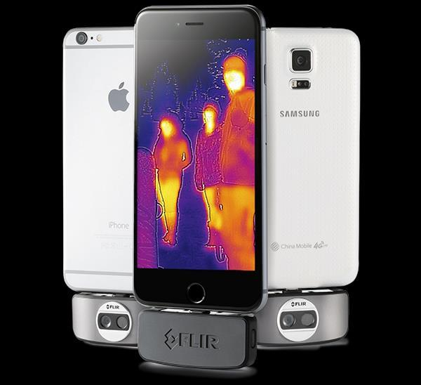 FLIR One ios & Android FLIR One App. ios & Android yhteensopiva Resoluutio 160x120 Herkkyys < 0.