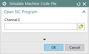 prompted, select the G-code file that