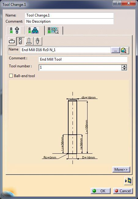 associated to an NX Tool than an error will be displayed during simulation.