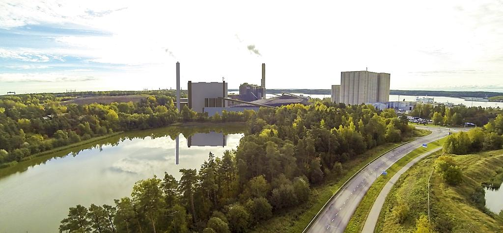 TSE New Multifuel/Bio CHP in Naantali Investment of 270 MEUR, to be completed in 2017 Readiness to go 100%