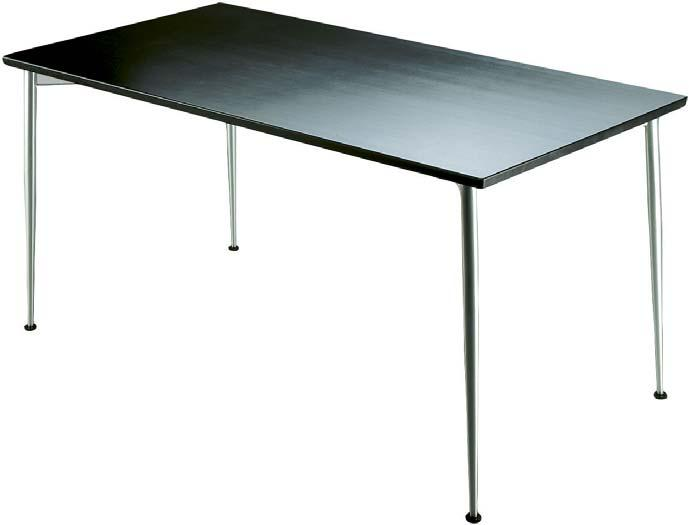 ARENA 600 DESIGN PASI PÄNKÄLÄINEN ARENA 600 is a multipurpose table for various environments. The rectangular-shaped table has legs in corners leaving plenty of room to sit at the table.