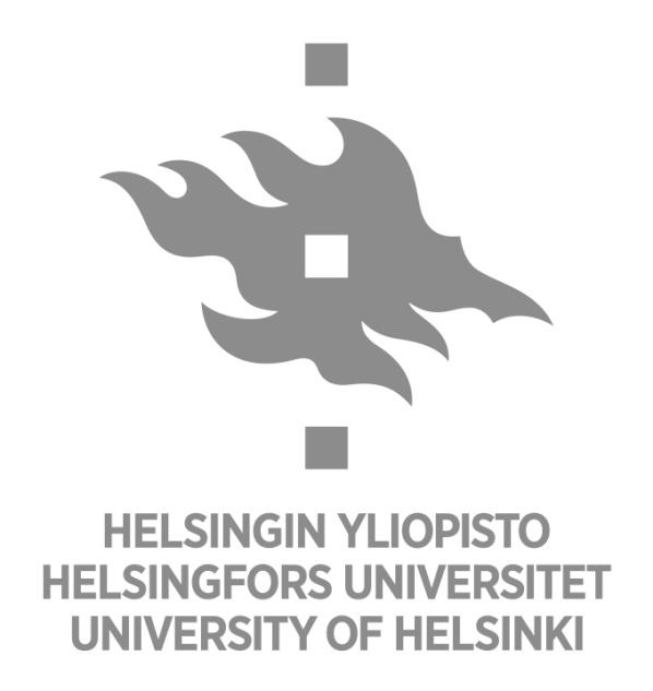 University of Helsinki Administrative Publications 80/73 Evaluations ISBN 978-952-10-7493-6 (PDF) ISSN 1795-5513