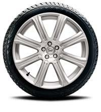 "Continental, IceContact 2 31664019 19"" 10-SPOKE TURBINE SILVER 235/55 R19 Continental, IceContact 2"