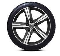 "3 C/F/72 db 31650912 Nokian, Hakkapeliitta R2 B/F/72 db 31650911 18 "" 5-Spoke Matt Black Diamond Cut -ALUMIINIVANNE 245/45 R18 Continental, IceContact"