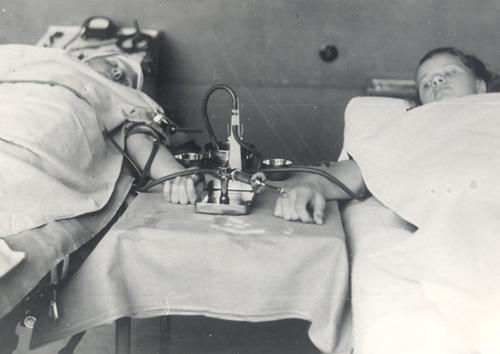 Finnish Red Cross Blood Service 1948- Aim during the first six decades: National