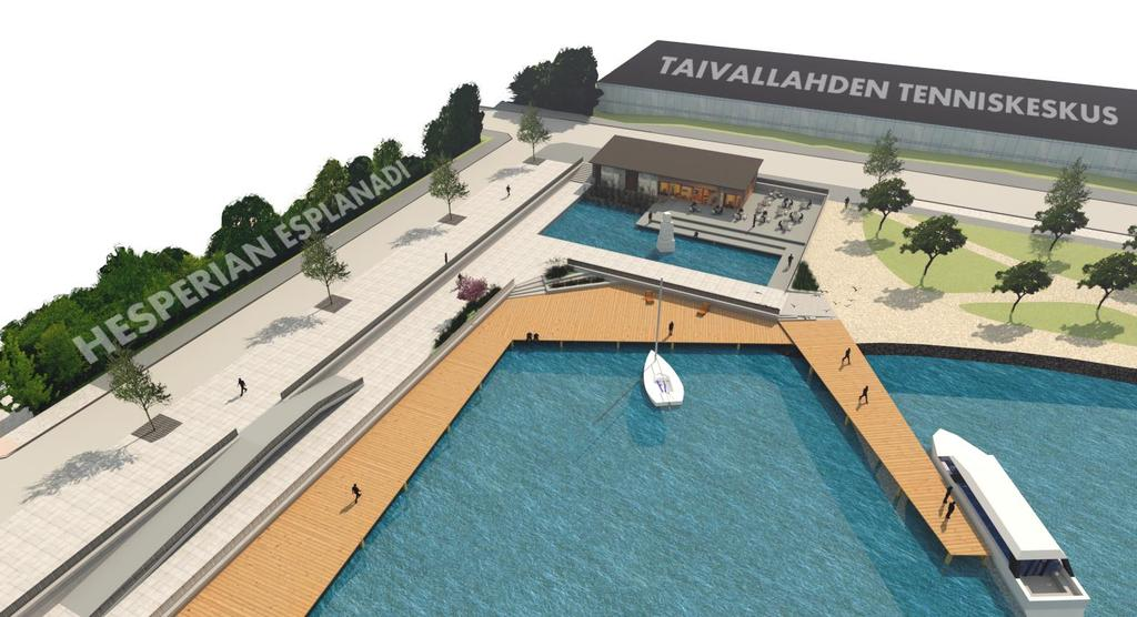 FUTURE Taivallahti waterfront master plan Design consider Ørestad as a reference and WSUD as