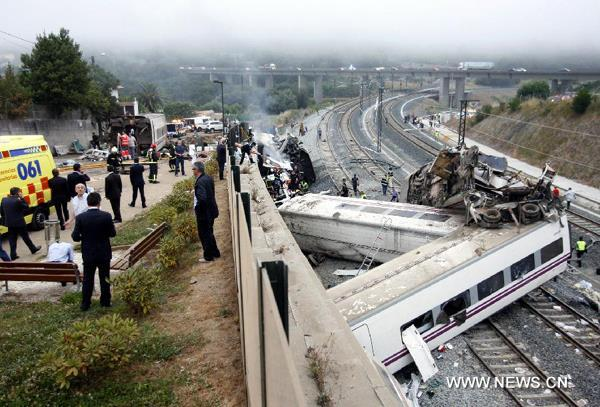 Helppo selitys: Driver in Spain train accident charged for reckless homicide The driver of a speeding train that hurtled off the rails