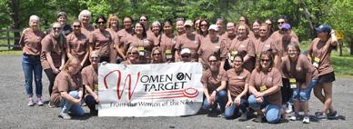Women On Target Instructional Shooting Clinics provide you with a safe,friendly environment for learning about and shooting rifles, pistols, shotguns, muzzleloaders, and bows.