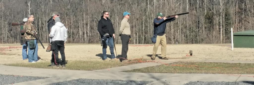 Opening Day of Skeet & Trap Winter League Just another Sunday at the club through the morning quite the call of PULL was heard a second later the air was sharp with the bark of