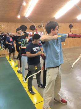George Mason University Students Complete Archery Class The fall session of the George Mason archery class finished up on November 4, 2018, with all five members of the class participating