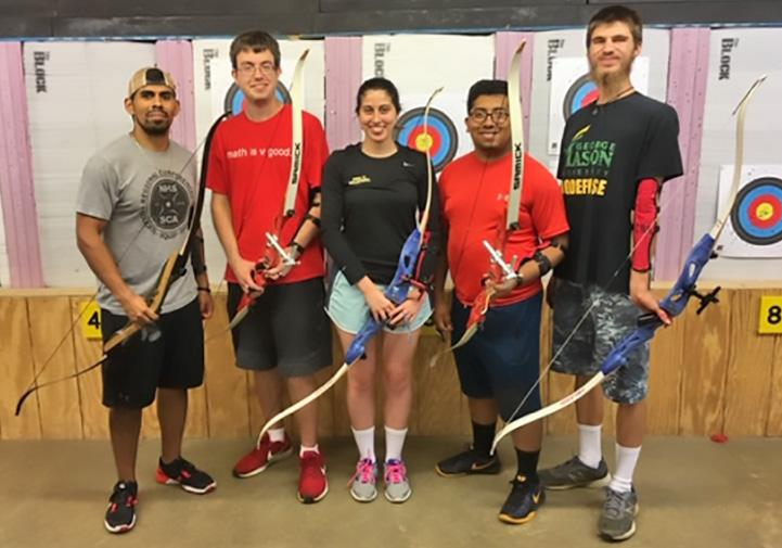These archers completed 12 weeks of classes prior to competing in the tournament, where Eduardo Ramirez placed 1st, Brian Edner placed 2nd, and Nicholas Reid placed 3rd in the male