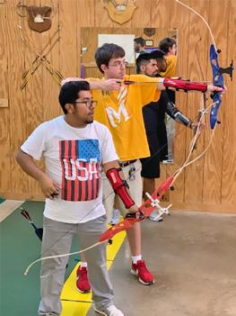 Youth Archery Training Program on January 6, 2019, at the indoor archery range at 14708 Mount Olive Road, Centreville, VA 20121 Cost of the program is $95 plus $20 for membership in the