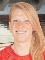 #11 MADDIE FITZPATRICK MB FRESHMAN, 6-FOOT-2 EVANSTON, ILL./EVANSTON TOWNSHIP 2012: Had five kills, five total blocks, and three digs in MAAC Championship victory over Siena... Had eight kills on.