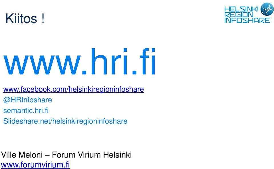 semantic.hri.fi Slideshare.