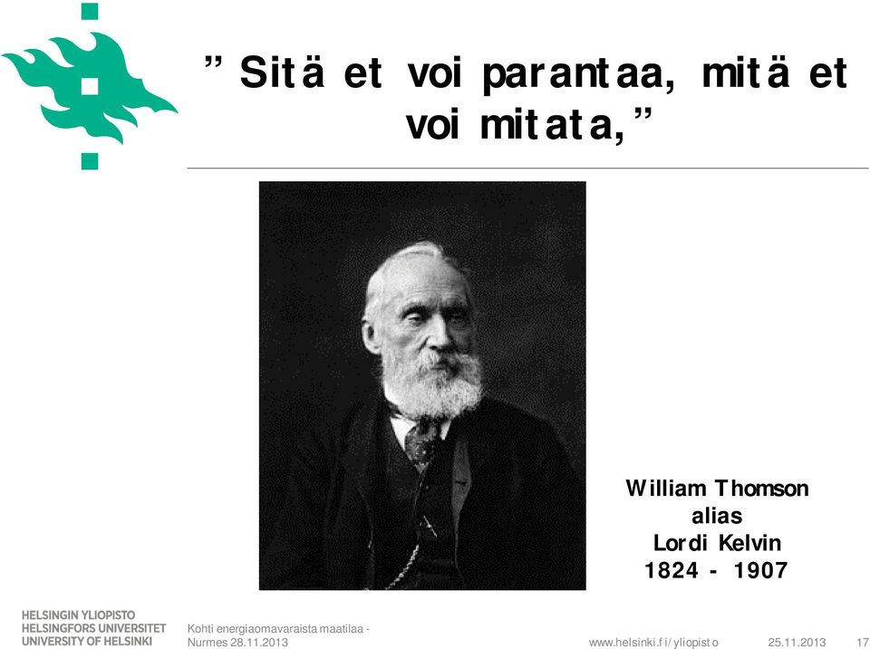 William Thomson alias